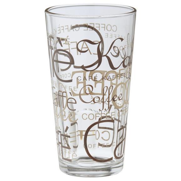 Kozarec Za Kavo Rocco - rjava/prozorna, Konvencionalno, steklo (0.39l) - Mömax modern living