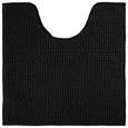 WC-Vorleger Nelly ca. 50x50cm - Schwarz, Textil (50/50cm) - Mömax modern living