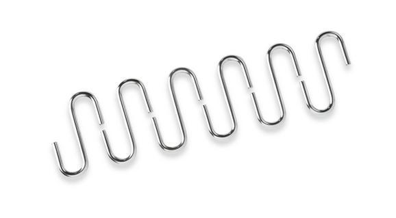 Haken Hängar aus Metall - Chromfarben, Metall (5/5/7cm) - Mömax modern living