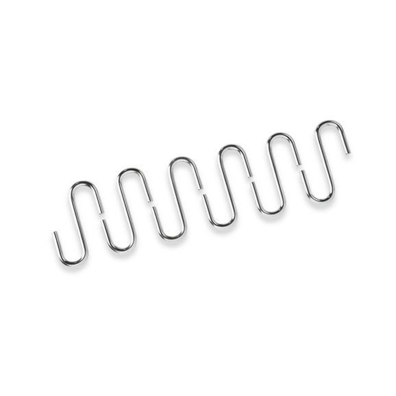 Kaveljček Hängar - krom, kovina (5/5/7cm) - Homezone