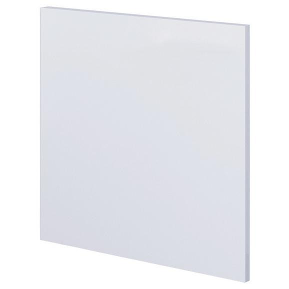 Geschirrspülerblende Geschirrspüler Blende / Weiß - Weiß, MODERN, Holzwerkstoff (59,4/54,5cm) - FlexWell.ai