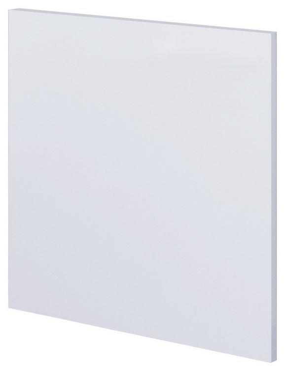Geschirrspülerblende in Weiß - Weiß, MODERN, Holzwerkstoff (59,4/54,5cm)