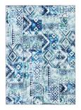 Tuftteppich Kashi Blau/grün - Blau/Grün, Textil (160/230cm) - MÖMAX modern living
