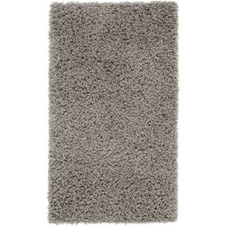 Hochflorteppich Bono in Hellgrau ca.100x150cm - Hellgrau, KONVENTIONELL, Textil (100/150cm) - Based