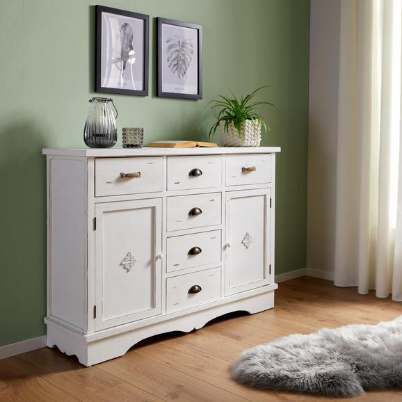 sideboard in wei online bestellen. Black Bedroom Furniture Sets. Home Design Ideas