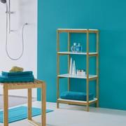 Badezimmerregal Mirella - Weiß, MODERN, Holz/Holzwerkstoff (40/95/30cm) - Modern Living