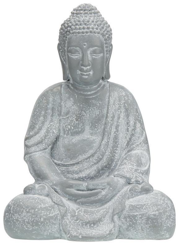 Buddha Dawn in Grau - Grau, LIFESTYLE (31,5/42/24cm) - Mömax modern living