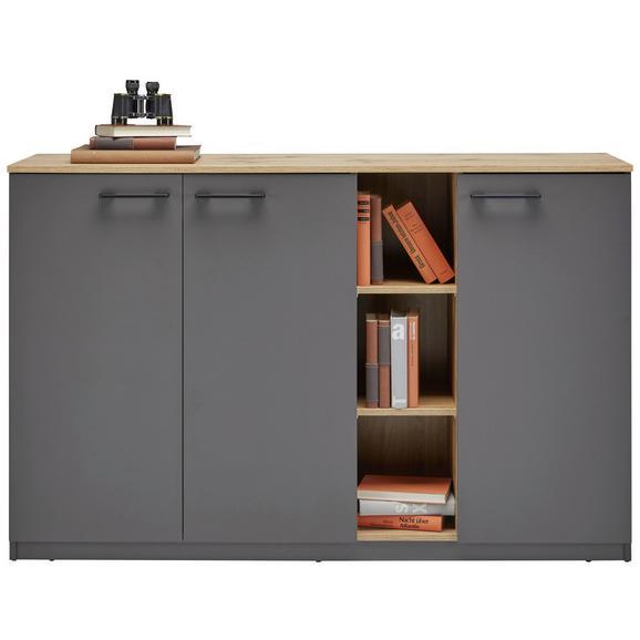 Sideboard in grau eichefarben online kaufen m max for Sideboard grau