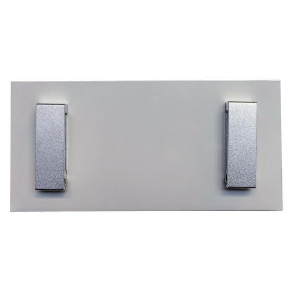 Hakenleiste Max in Weiß - MODERN, Holzwerkstoff (12/25/2cm) - Modern Living