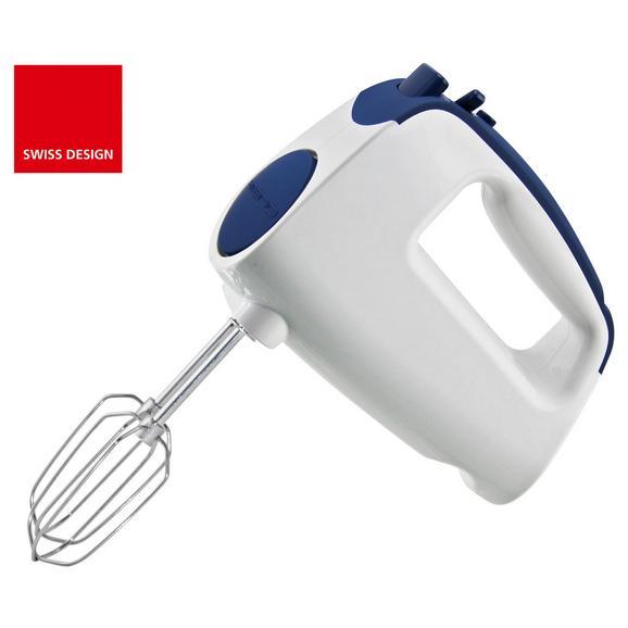 Mixer De Mână Noah - albastru/alb, plastic/metal (18/9cm)