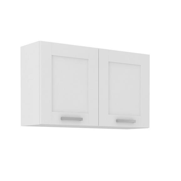 Dulap Suspendat De Bucătărie Luisa - alb, Konventionell, compozit lemnos (100/58/31cm)