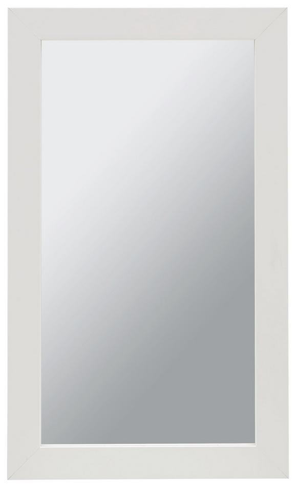 Wandspiegel in Weiß - Weiß, MODERN, Glas/Holzwerkstoff (30/50cm) - MÖMAX modern living