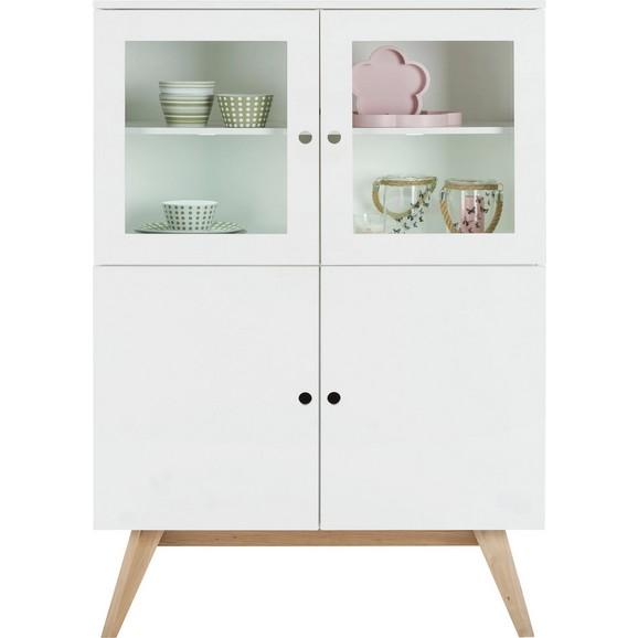 highboard in natur wei online kaufen m max. Black Bedroom Furniture Sets. Home Design Ideas