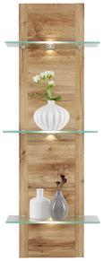 Stenski Panel Alamo - hrast, Moderno, leseni material (38/110/20cm) - Modern Living