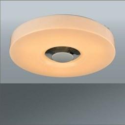 Led-mennyezeti lámpa Prima - Fehér, Műanyag/Fém (35/6cm)