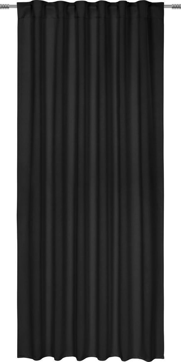 Zatemnitvena Zavesa Riccardo - črna, Moderno, tekstil (140/245cm) - Premium Living