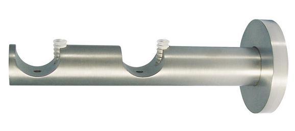 Träger Combi in Edelstahlfarben - Edelstahlfarben, Metall (1/1/1cm) - Mömax modern living