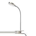 Lampă Cu Clemă Holger - culoare crom, Modern, plastic/metal (29,5/44cm) - Modern Living