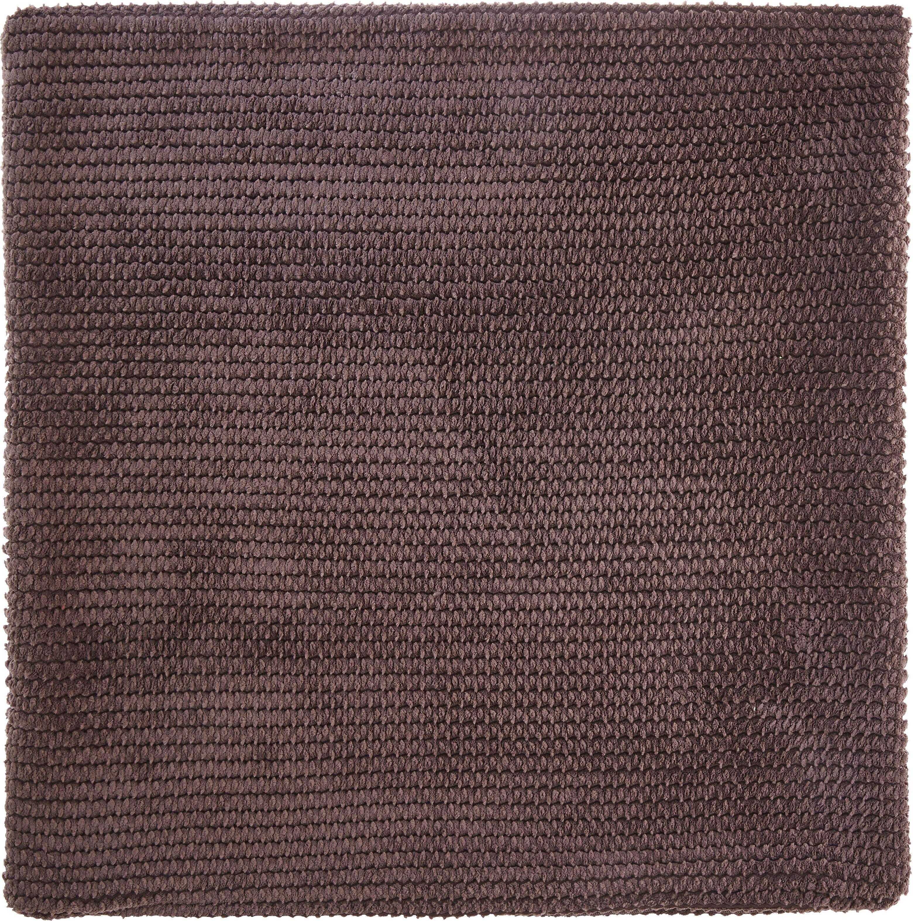 Kissenhülle Maxima, ca. 50x50cm - Braun, KONVENTIONELL, Textil (50/50cm) - MÖMAX modern living