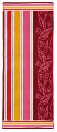 Handtuch Dyckhoff ca.70x180cm - Rot, KONVENTIONELL, Textil (70/180cm) - Dyckhoff