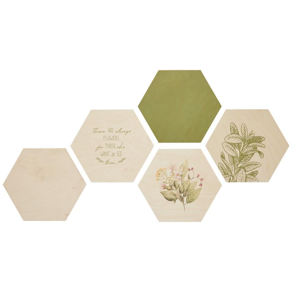 Bild Hexagon, 5er Set