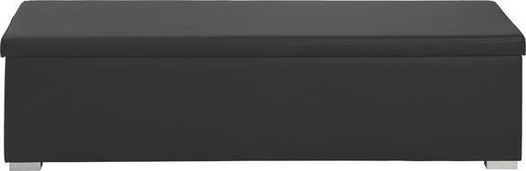 Truhenbank schwarz weiß  Truhenbank in Schwarz, Aufklappbar online kaufen ➤ mömax