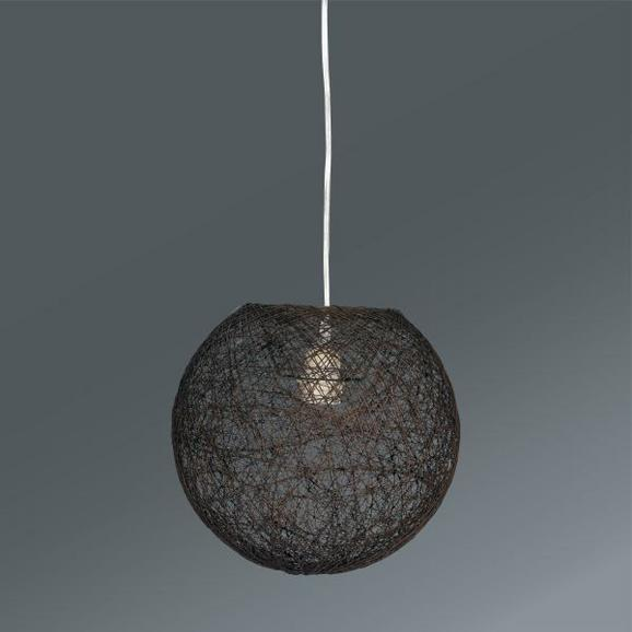Függőlámpa Barna - Barna, Lifestyle, Textil (30cm) - Mömax modern living