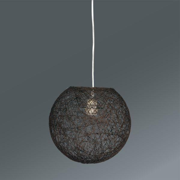 Viseča Svetilka Sophia - rjava, Trendi, tekstil (30cm) - MÖMAX modern living