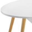 Couchtisch Silvio mit Ablagefächer - Weiß/Pinienfarben, MODERN, Holz/Holzwerkstoff (100/42,5/50cm) - Modern Living
