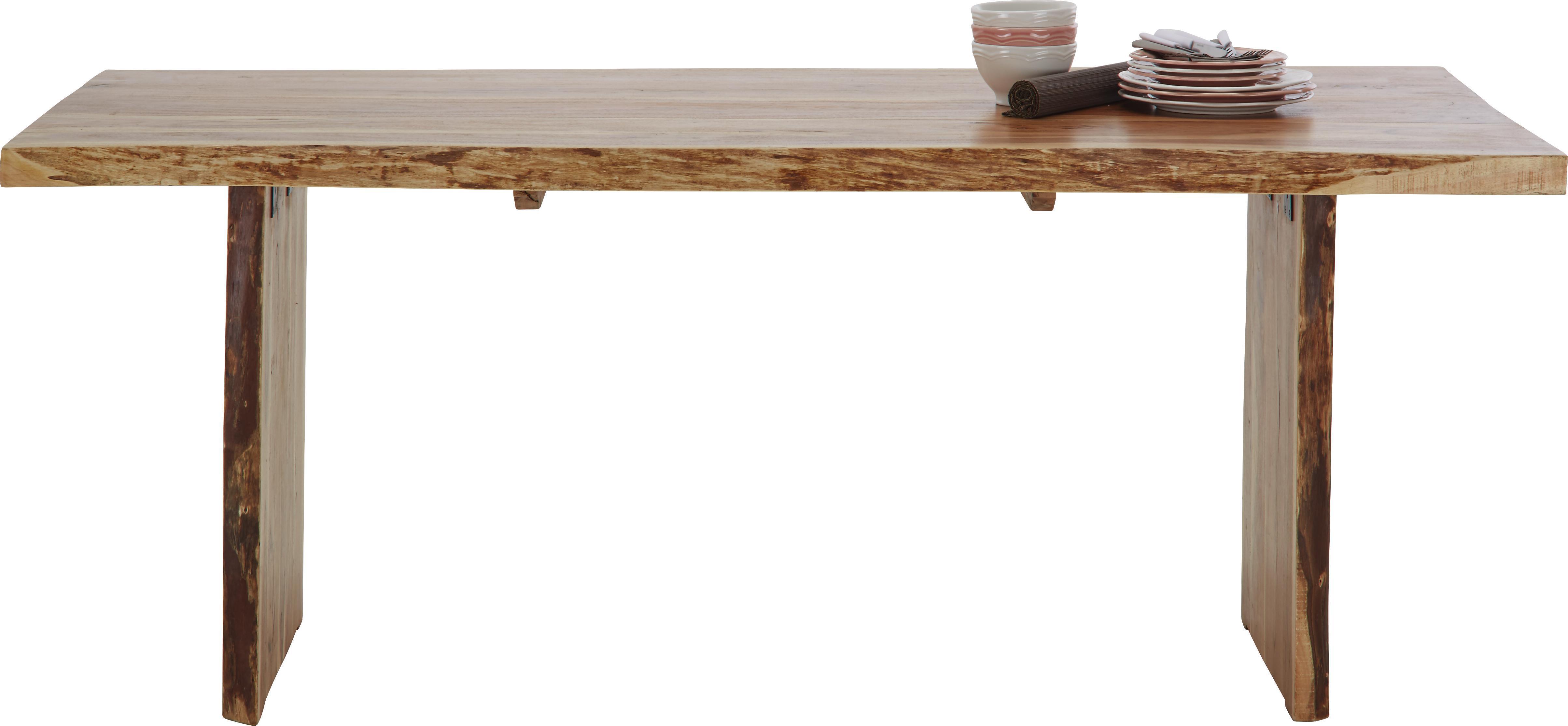 Esstisch Akazienfarben Holz   Akaziefarben, LIFESTYLE, Holz (200/76/100cm)