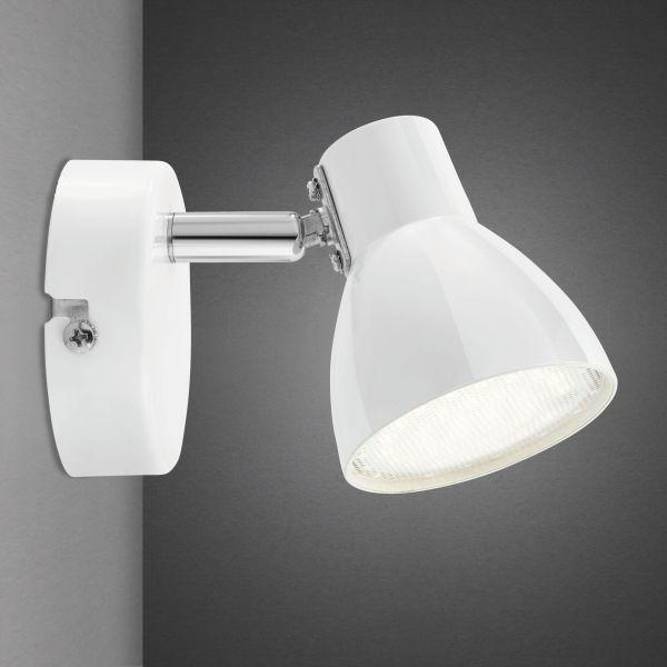 LED-Strahler Spotty - Weiß, Metall (14/8/7cm) - MÖMAX modern living