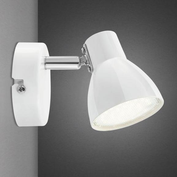LED-Strahler Spotty - Weiß, Metall (14/8/7cm) - MÖMAX modern living