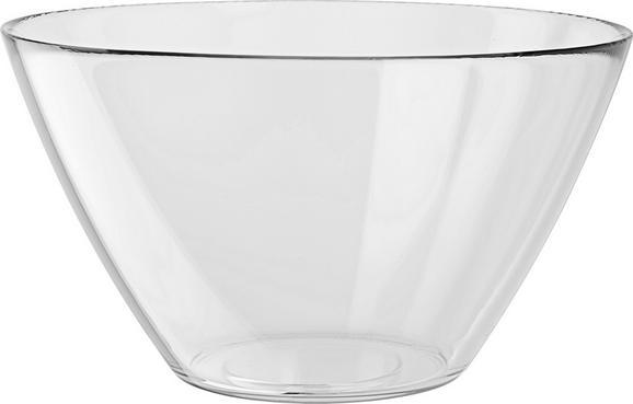 Schale Basic aus Glas - Klar, Glas (26/14,5/26cm) - Mömax modern living
