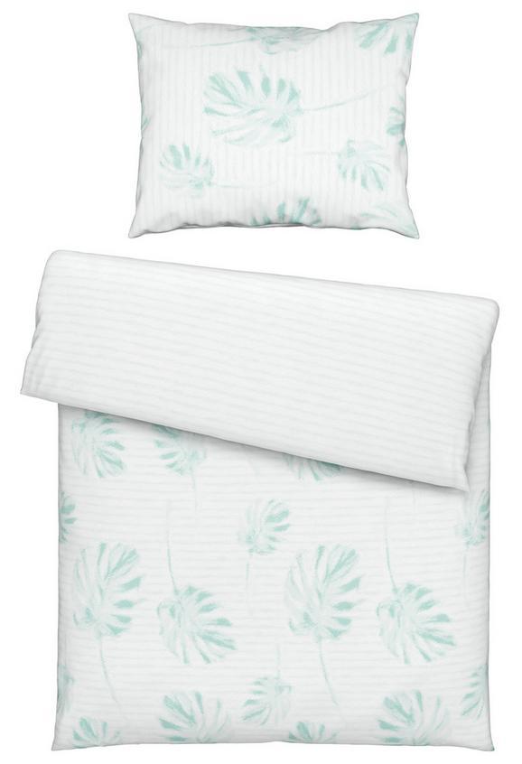 Posteljnina Palm -ext- - modra, Konvencionalno, tekstil (140/200cm) - MÖMAX modern living