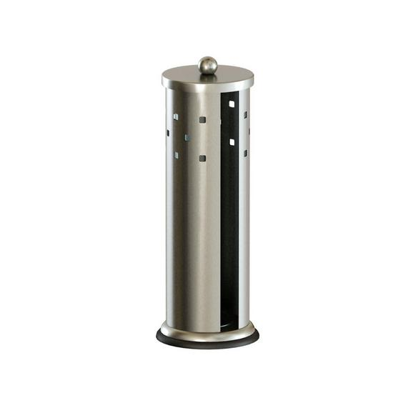 Suport Hârtie Igienică Trentino - argintiu, Konventionell, metal (18/36cm)