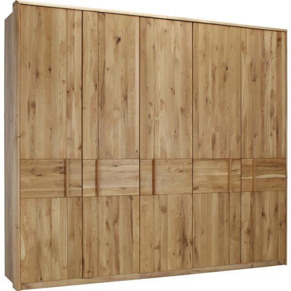 Drehtürenschrank in Wildeiche - Eichefarben, KONVENTIONELL, Holz/Holzwerkstoff (256/223/63cm) - Premium Living
