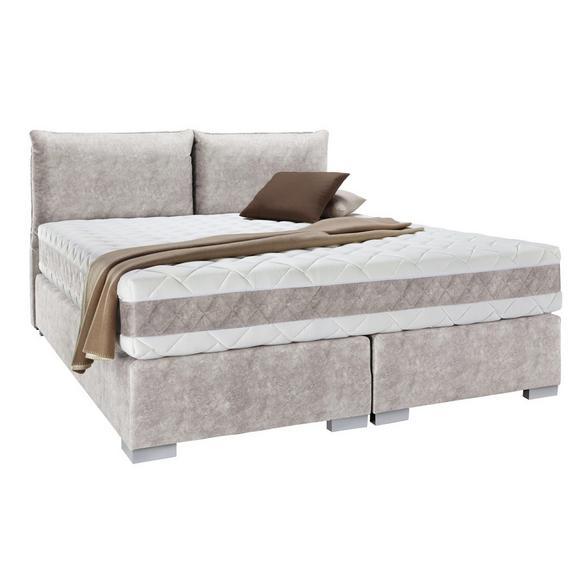 boxspringbett in beige ca 160x200cm online kaufen m max. Black Bedroom Furniture Sets. Home Design Ideas