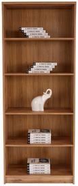 Regal 4-you New - črna/hrast, Moderno, leseni material (74/189,5/34,6cm) - Mömax modern living
