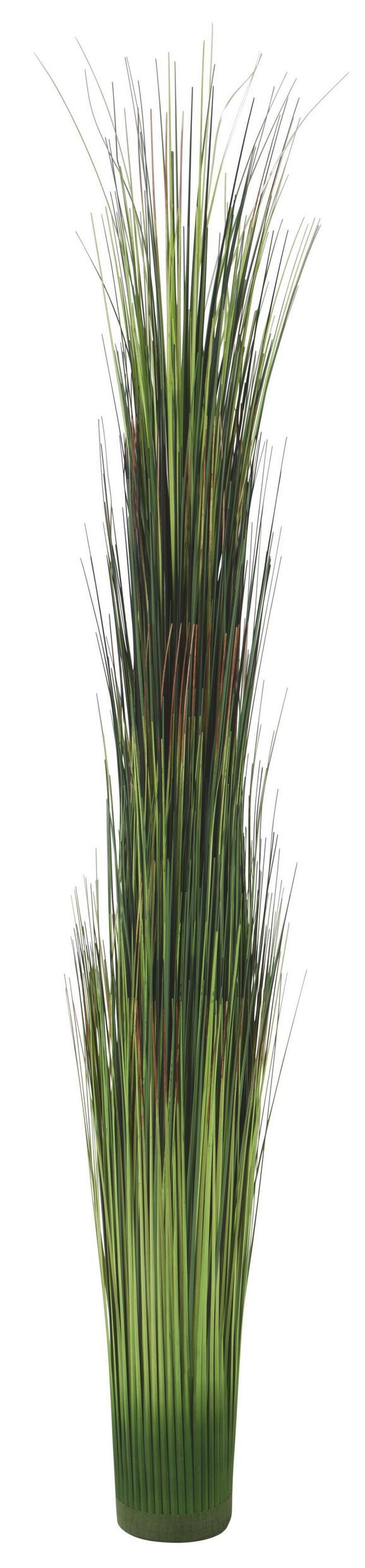 Grasbündel Markus in Grün - Grün, Kunststoff (120cm)