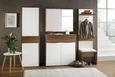 Garderobenbank Weiß/Kiefer - Weiß/Kieferfarben, MODERN, Holzwerkstoff/Kunststoff (55/50/42cm)