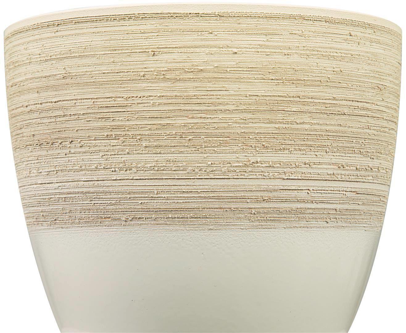 Kaspó Vanilla Cream - krém, kerámia (11/11/10cm)