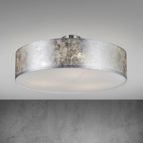 Deckenleuchte Emelle - Nickelfarben, MODERN, Kunststoff/Metall (60/60/24cm) - Mömax modern living