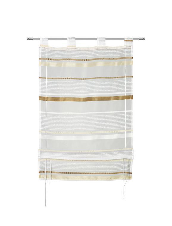 Bändchenrollo Adele in Braun, ca. 60x140cm - Braun, KONVENTIONELL, Textil (60/140cm) - MÖMAX modern living