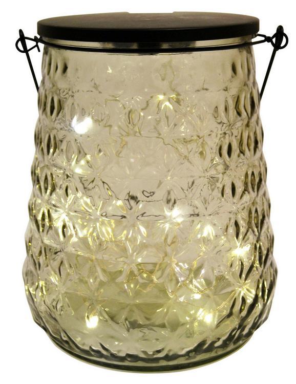 Okrasna Led-svetilka Lacey - kovina/steklo (16,5/20cm)