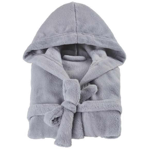 Kupaonski Ogrtač Benji - bijela/tirkizna, Konventionell, tekstil (104-116null) - Mömax modern living