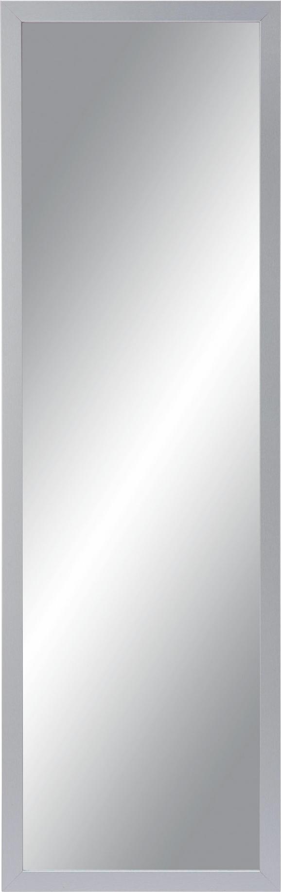 Wandspiegel ca. 50x150x2cm - Silberfarben, Glas/Holzwerkstoff (50/150/2cm)