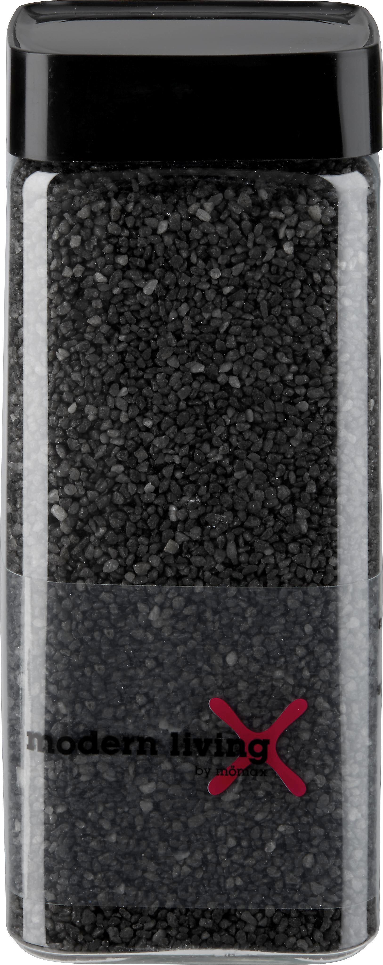 Dekogranulat perlkies in Anthrazit - Anthrazit, KONVENTIONELL, Stein (0,550l)
