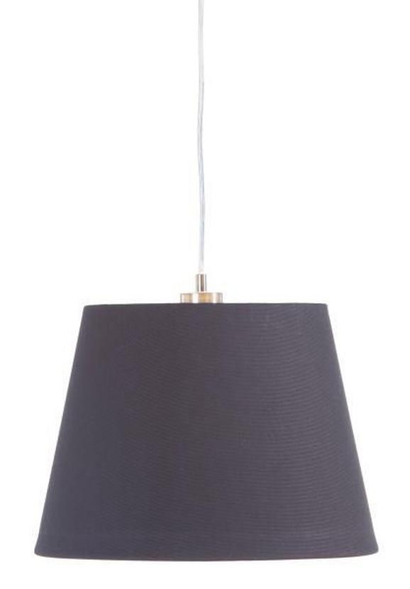 Leuchtenschirm Ancona - Schwarz, Textil/Metall (34-42/29cm) - Mömax modern living