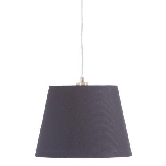 Senčnik Za Svetilko Ancona - črna, kovina/tekstil (34-42/29cm) - Mömax modern living