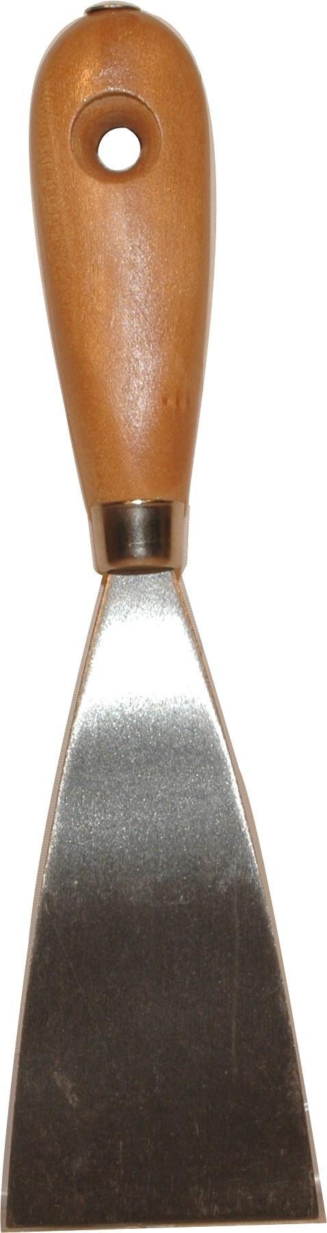 Spatula Hubert - ezüst színű, konvencionális, fém (25cm)